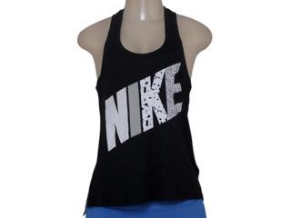 Regata Feminina Nike 678966-010 Prep Tank-mixed Preto - Tamanho Médio