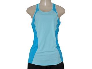 Regata Feminina Nike 645436-437 Racer Tank  Azul Bebê/azul - Tamanho Médio