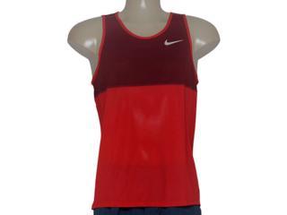 Regata Masculina Nike 642844-657 Racer Singlet  Vermelho/bordo - Tamanho Médio