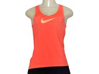 Regata Feminina Nike 725489-850 Pro Cool Coral - Tamanho Médio