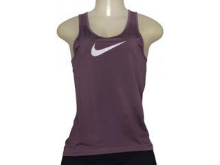 Regata Feminina Nike 725489-533 Pro Cool Roxo - Tamanho Médio