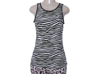 Regata Feminina Dzarm 6hkt 1100 Zebra - Tamanho Médio