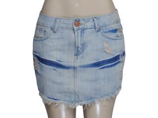 Saia Feminina Cavalera Clothing 10.02.0412 Cor Jeans - Tamanho Médio