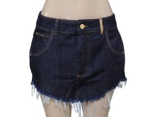 Saia Feminina Coca-cola Clothing 83200615 Cor Jeans - Tamanho Médio