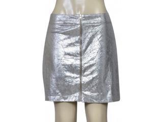 Saia Feminina Coca-cola Clothing 83200792 Var1 Cinza/prata - Tamanho Médio
