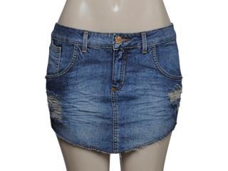 Saia Feminina Index 04.01.000080 Cor Jeans - Tamanho Médio
