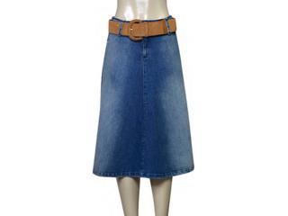 Saia Feminina Index 04.01.000162 Jeans - Tamanho Médio