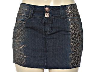 Saia Feminina y Exx 20287 Jeans Onca - Tamanho Médio