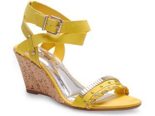 Sandália Feminina Dakota 9502 Amarelo - Tamanho Médio