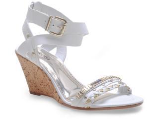 Sandália Feminina Dakota 9502 Branco - Tamanho Médio