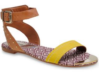 Sandália Feminina Dakota 9343 Amarelo - Tamanho Médio