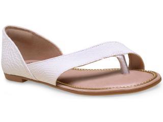 Sandália Feminina Dakota Z0366 Branco - Tamanho Médio