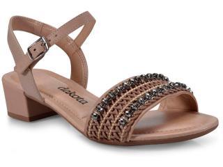 Sandália Feminina Dakota Z2431 Nozes - Tamanho Médio