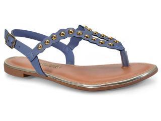 Sandália Feminina Dakota Z2893 Jeans - Tamanho Médio