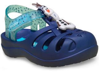Sandália Masc Infantil Grendene 21341 Buddies Baby Azul Escuro/azul - Tamanho Médio