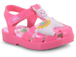 888b739422 Sandália Fem Infantil Grendene 21875 50485 Barbie Love Rosa