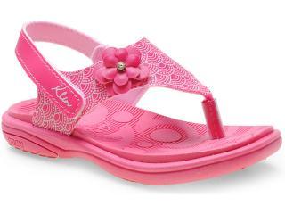 Sandália Fem Infantil Klin 711.038 Pink - Tamanho Médio