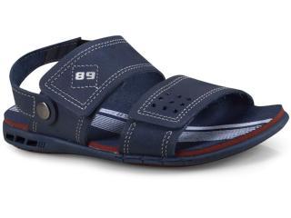 Sandália Masc Infantil Pegada 331732-07 Jeans - Tamanho Médio