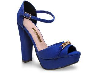 Sandália Feminina Via Marte 15-3904 Azul - Tamanho Médio
