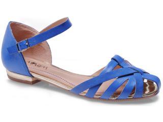 Sandália Feminina Ramarim 13-57201 Azul - Tamanho Médio