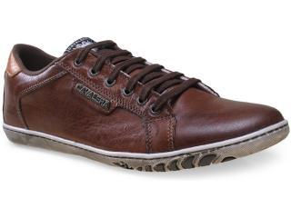 Sapatênis Masculino Cavalera Shoes 13.01.1365 Chocolate/ocre - Tamanho Médio