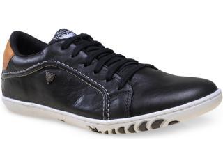 Sapatênis Masculino Cavalera Shoes 13.01.1366 Preto/ocre - Tamanho Médio