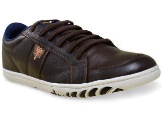 Sapatênis Masculino Cavalera Shoes 13.01.1668 Café - Tamanho Médio