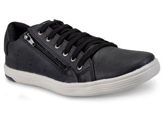 Sapatênis Masculino Ped Shoes 11006-a Preto - Tamanho Médio