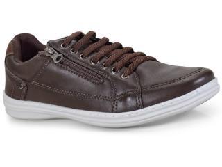 Sapatênis Masculino Ped Shoes 76501-b Café - Tamanho Médio