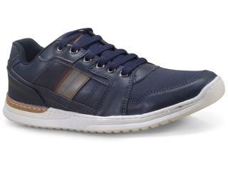 Sapatênis Masculino Ped Shoes 15090-c Marinho - Tamanho Médio