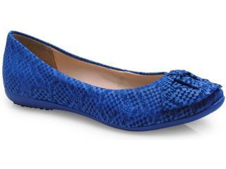 Sapatilha Feminina Bottero 213602 Azul Klein - Tamanho Médio