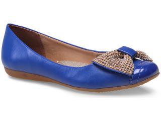 Sapatilha Feminina Bottero 231905 Azul Klein - Tamanho Médio