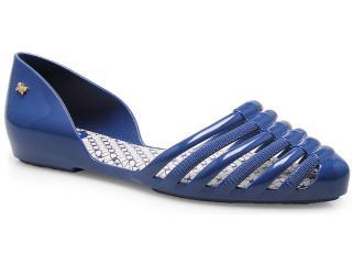 Sapatilha Feminina Grendene 16833 Zaxy Hype Azul Marinho - Tamanho Médio