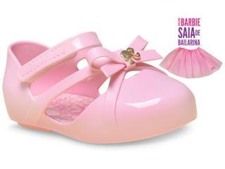 Sapatilha Fem Infantil Grendene 21471 Barbie Balletrosa Rosa - Tamanho Médio