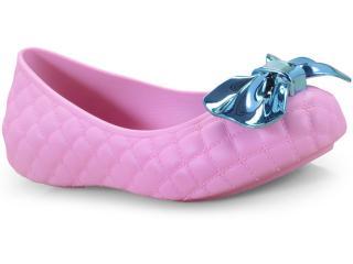 Sapatilha Fem Infantil Grendene 21956 51452 Lol Joy Sap Rosa/azul - Tamanho Médio