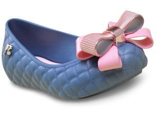 Feminina Sapatilha Grendene 21575 Barbie Fashion Azul - Tamanho Médio