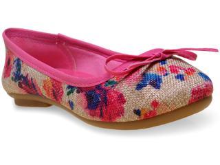 Sapatilha Fem Infantil Klin 172.002 Pink - Tamanho Médio