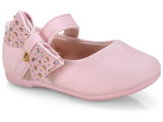 Sapatilha Fem Infantil Klin 152.112 Rosa - Tamanho Médio