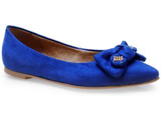 Sapatilha Feminina Lana 4051 Azul Bic - Tamanho Médio