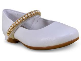 a53df76ae Sapatilha Pampili 10.340 Branco Comprar na Loja online...