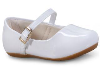 Sapatilha Feminina Pampili 203.211 Branco - Tamanho Médio