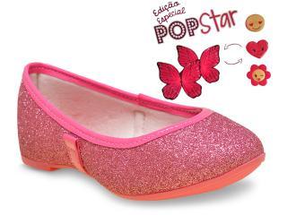 Sapatilha Fem Infantil Pampili 178.001 Pink - Tamanho Médio