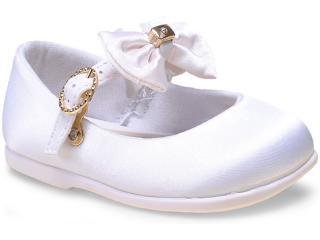 Sapatilha Fem Infantil Pimpolho 26143 Branco - Tamanho Médio