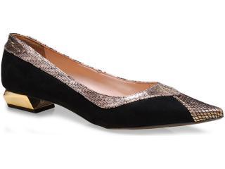 Sapato Feminino Seculo Xxx 1059.20711 Preto - Tamanho Médio