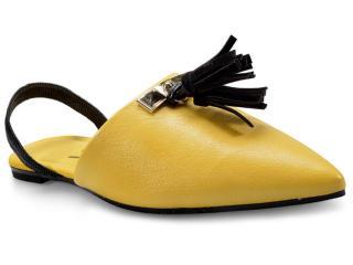 Sapatilha Feminina Vizzano 1269104 Amarelo/preto - Tamanho Médio