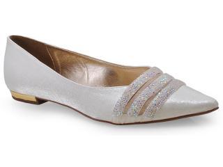 Sapato Feminino Seculo Xxx 98210694 Perola/natural - Tamanho Médio
