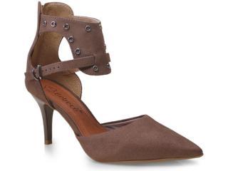 Sapato Feminino Bebêcê7010110 Taupe - Tamanho Médio