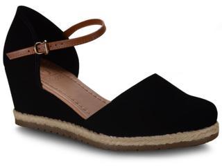 Sapato Feminino Bebêcê5814695 Preto - Tamanho Médio