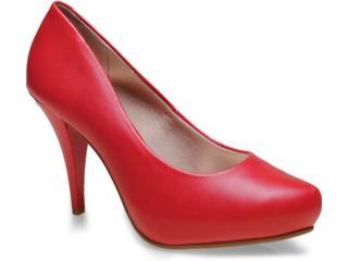 Sapato Feminino Beira Rio 4080250 Vermelho - Tamanho Médio