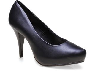 Sapato Feminino Beira Rio 4080250 Preto - Tamanho Médio